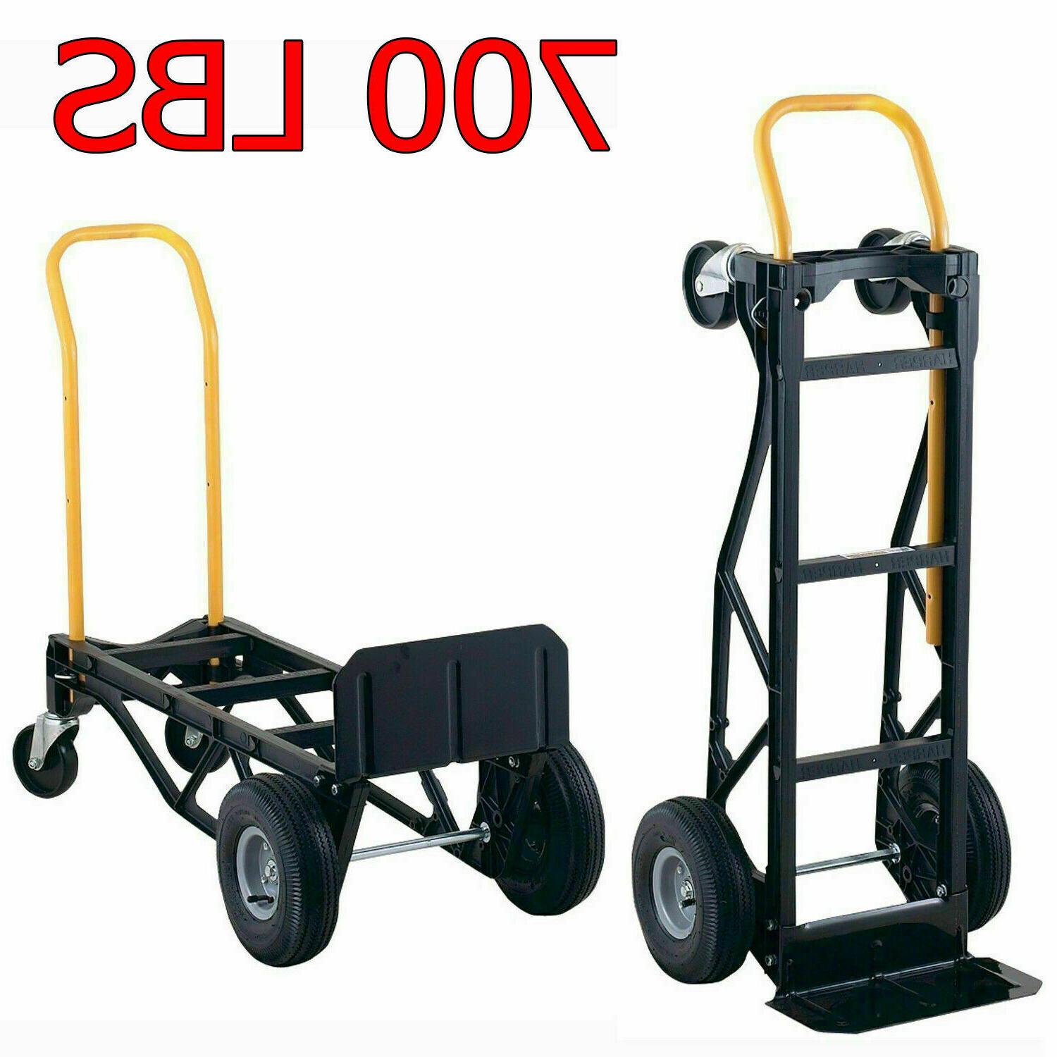 heavy duty moving dolly convertible hand truck