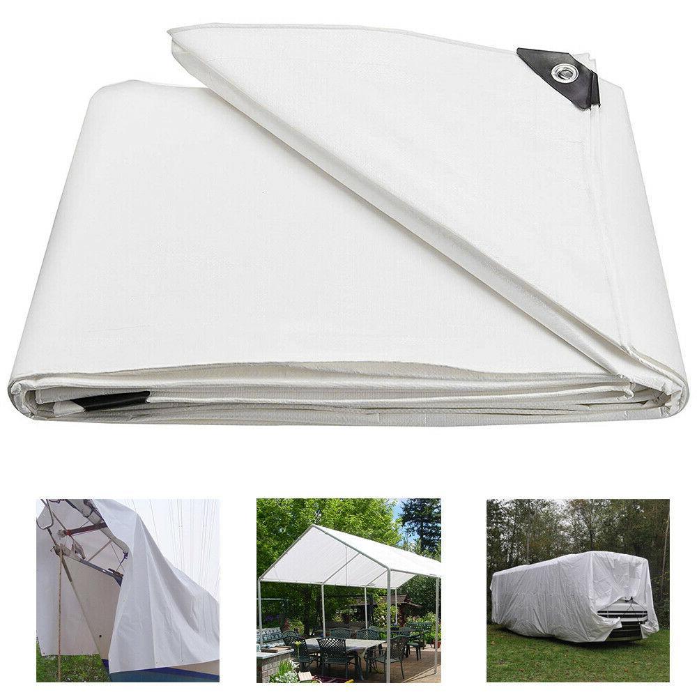 heavy duty poly tarp waterproof tarpaulin canopy