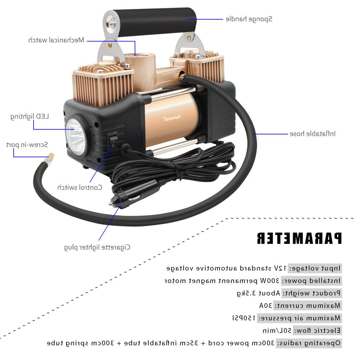 HEAVY DUTY Portable Pump Off 12V