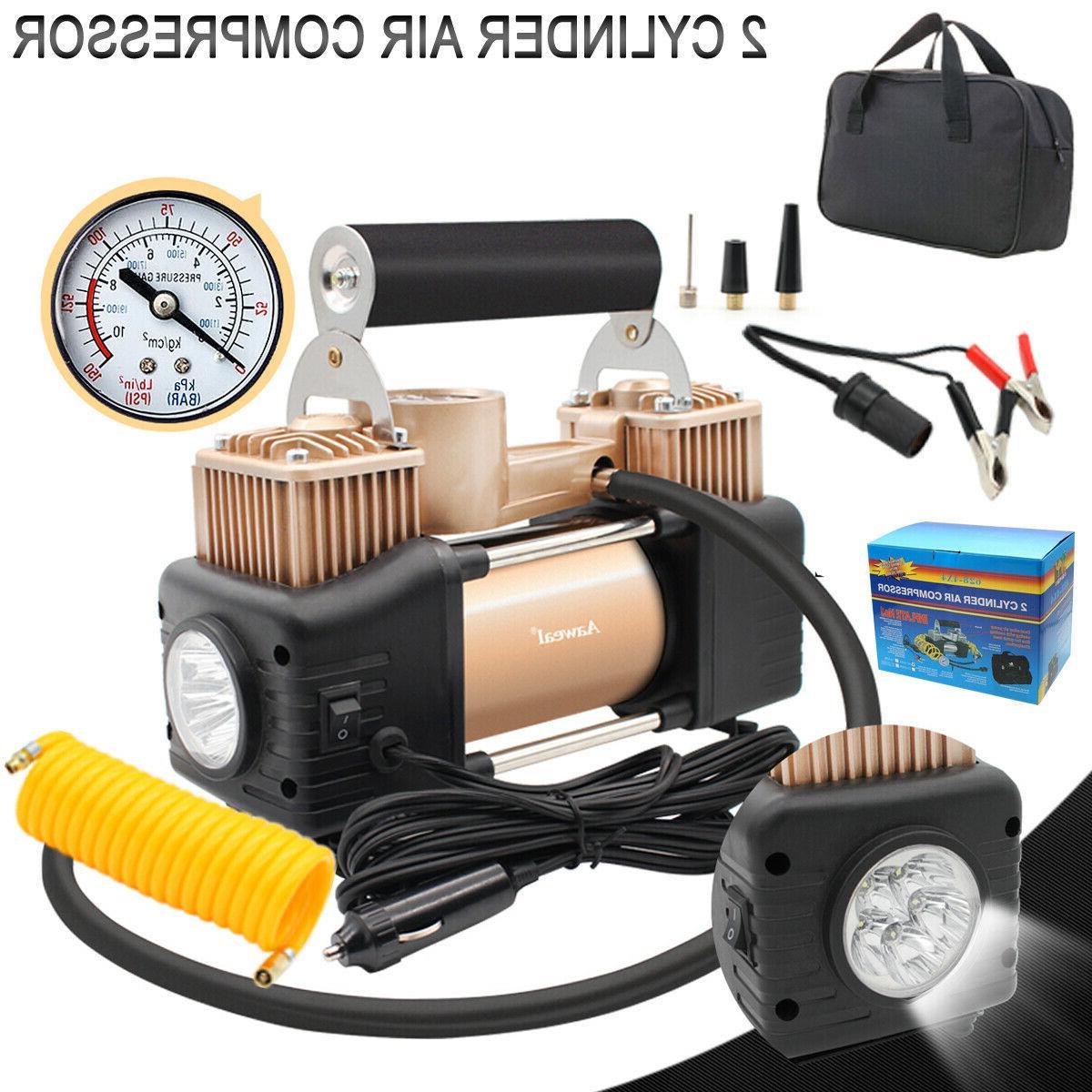 heavy duty portable air compressor for car