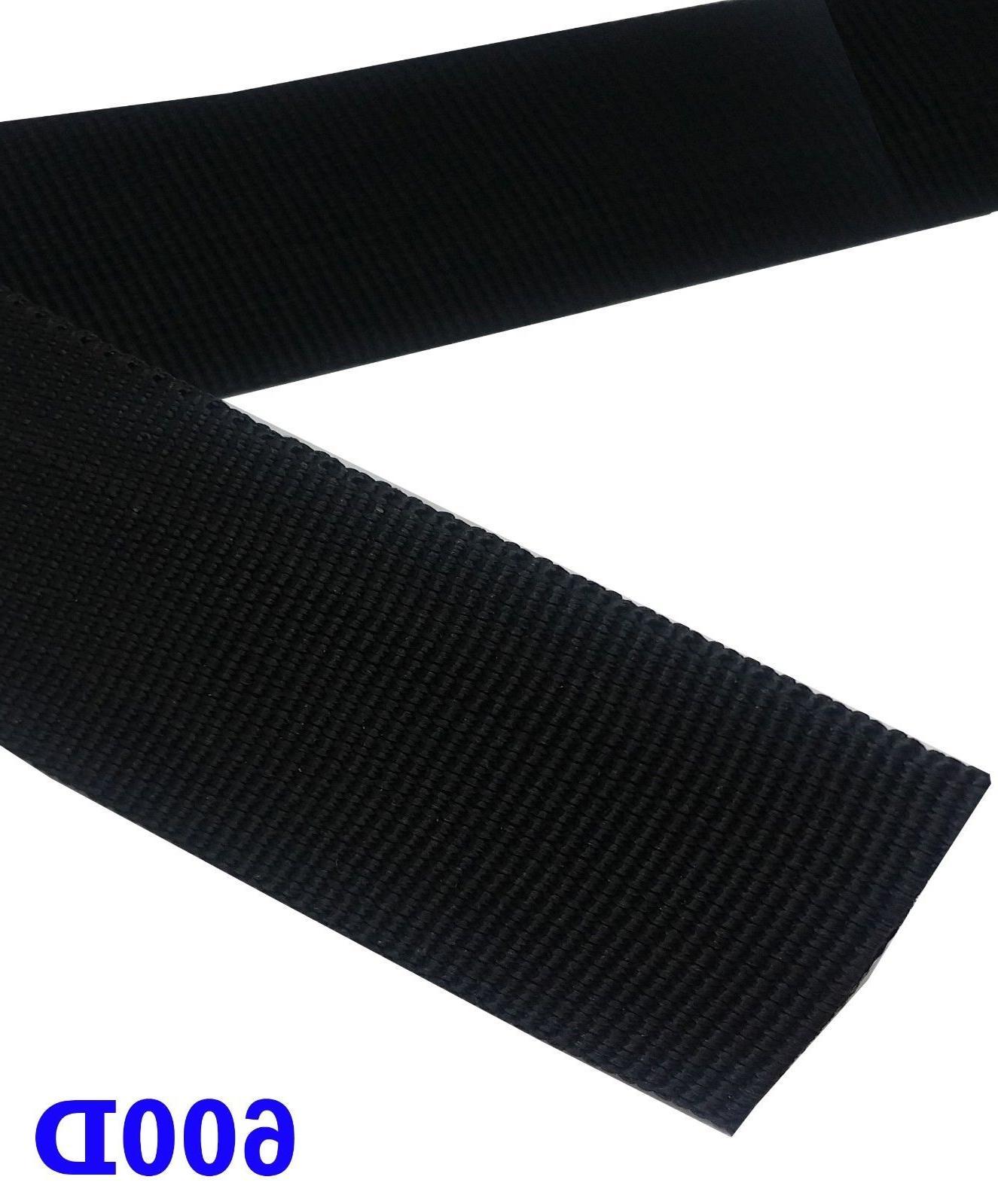 Heavy Inch 600D Black Strap 5/10