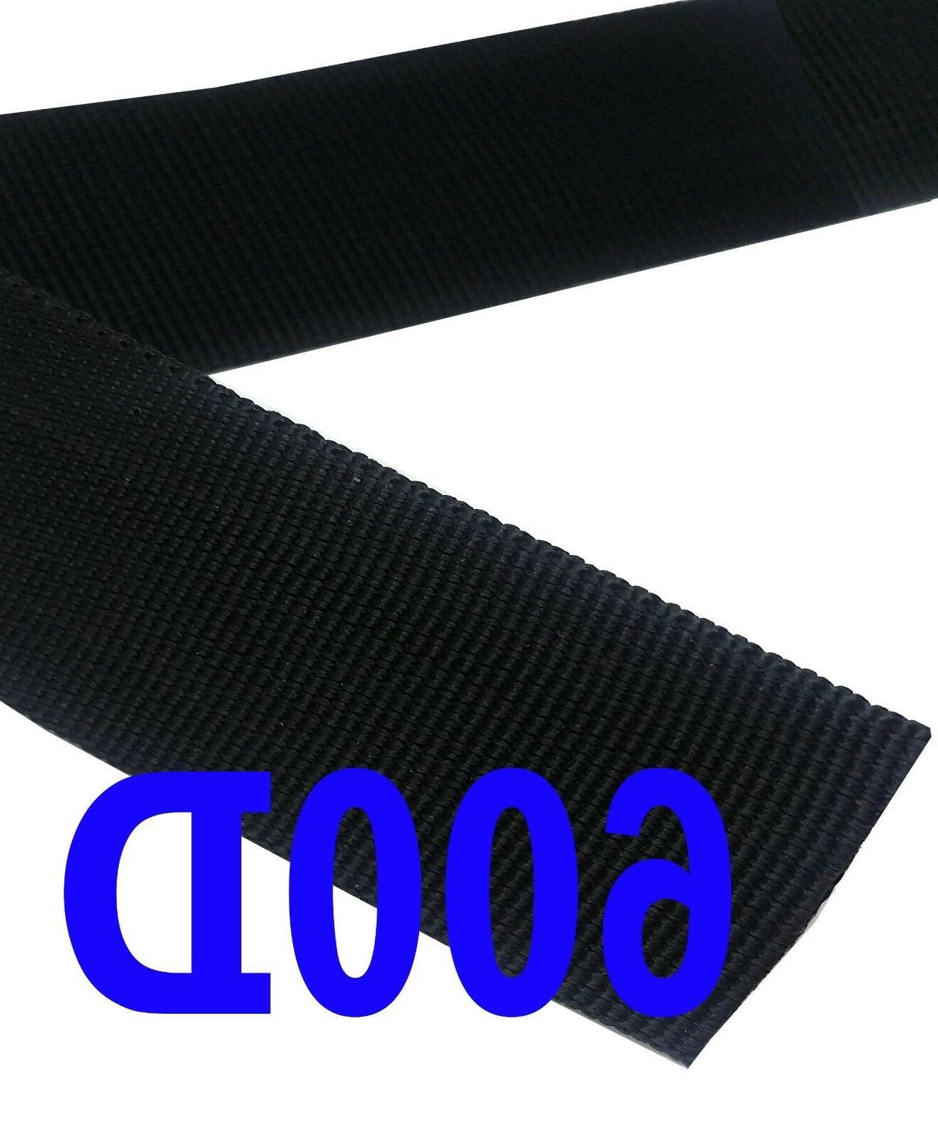 Heavy Inch Polypropylene 600D Black Strap