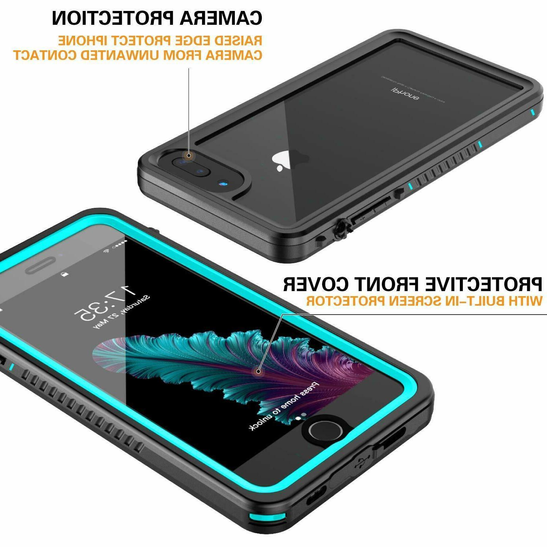 Heavy Duty iPhone iPhone 8 Plus Case Shockproof Waterproof