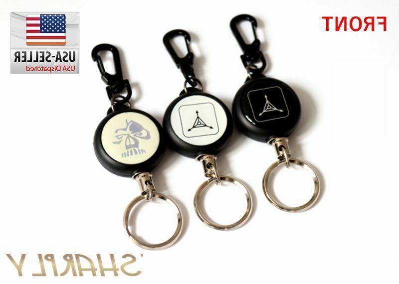 2 Key ID Badge Holder