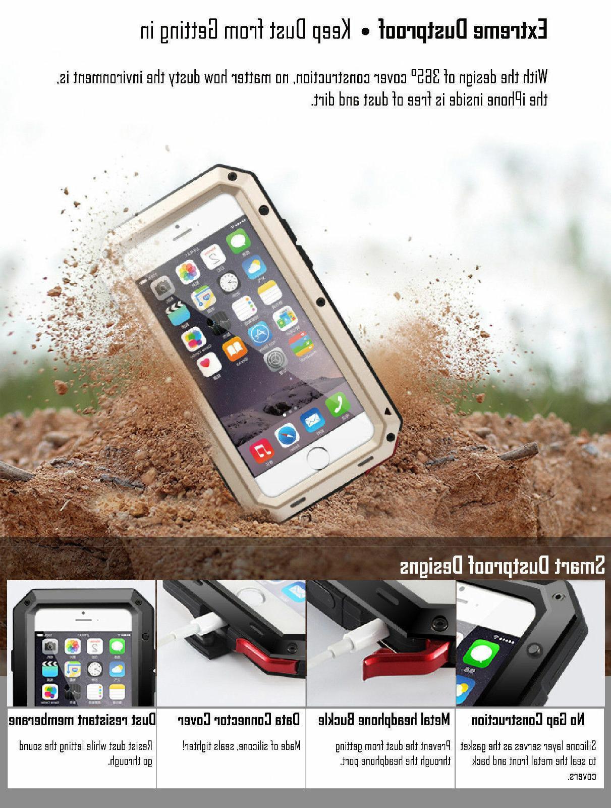 Gorilla Metal Case Cover X XS XR