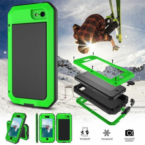 HEAVY Shockproof Metal Cover Waterproof for iPhone Xr
