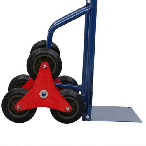 Heavy Stair Hand Trolley w/ star-shaped