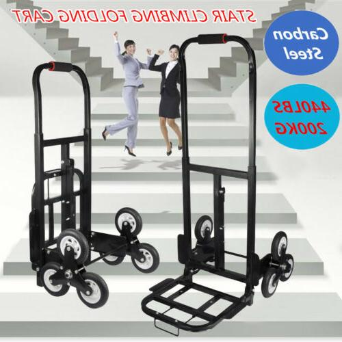 Heavy Duty STAIR CLIMBING Moving Dolly Hand Truck Warehouse