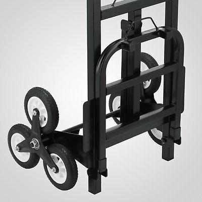 420lb Duty STAIR CLIMBING Moving Hand Truck Warehouse Cart