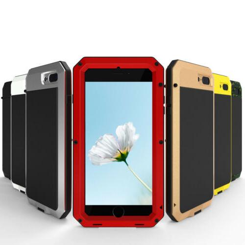 Heavy Shockproof Metal Glass Cover Xs