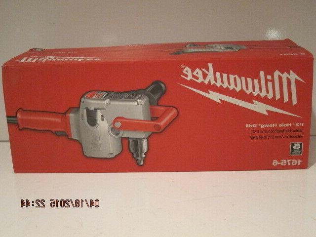 "MILWAUKEE 1675-6, 1/2"" Hole-Hawg Two-Speed HEAVY DUTY Drill,"
