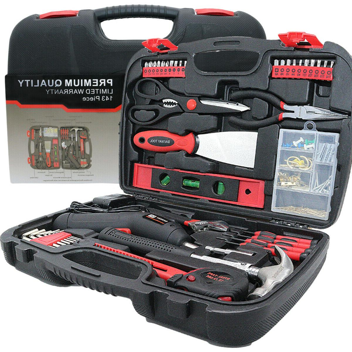 SAVWAY Household Power Rechargeable Drill Kit