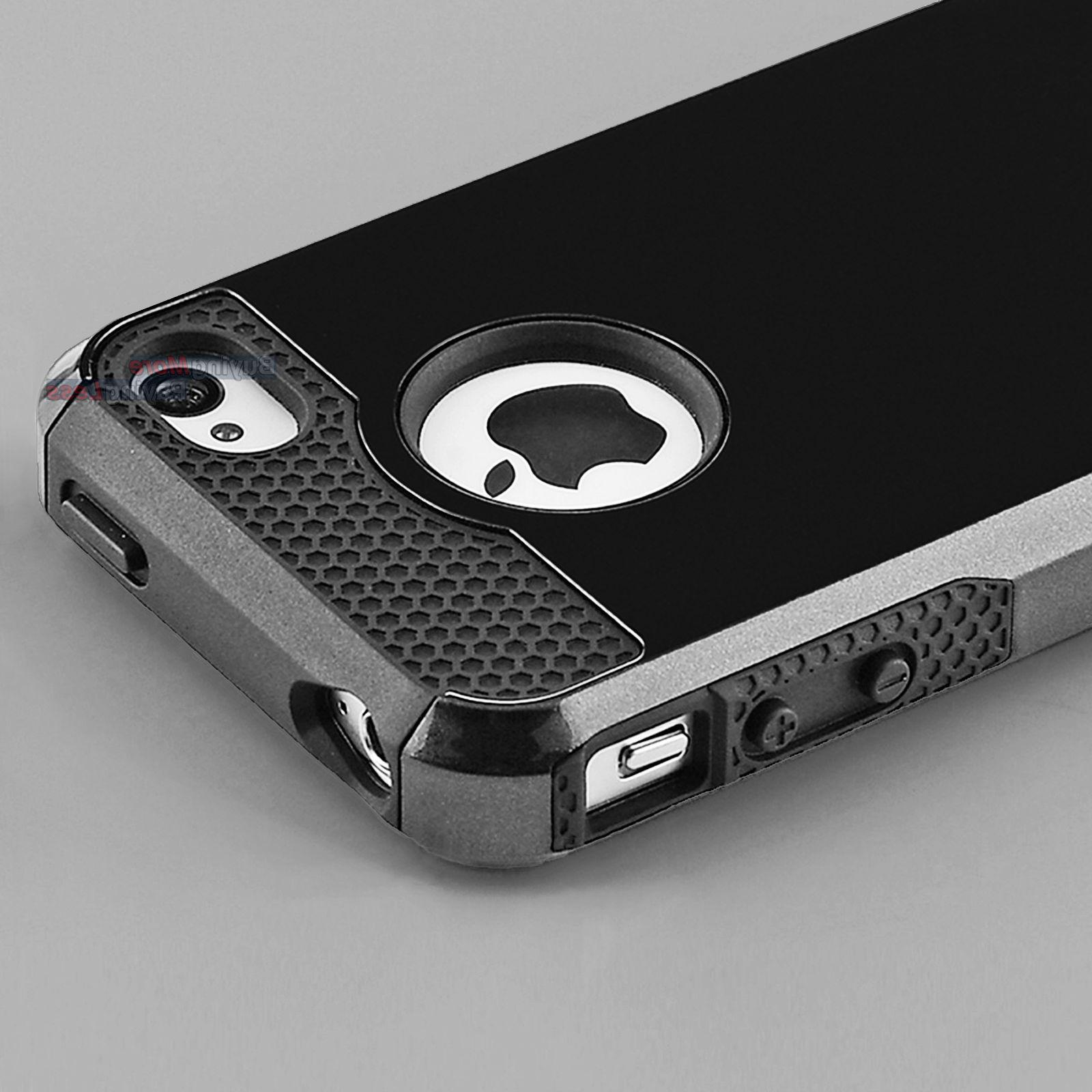 Hybrid Shockproof Hard Rugged Heavy Duty Cover Case For Appl