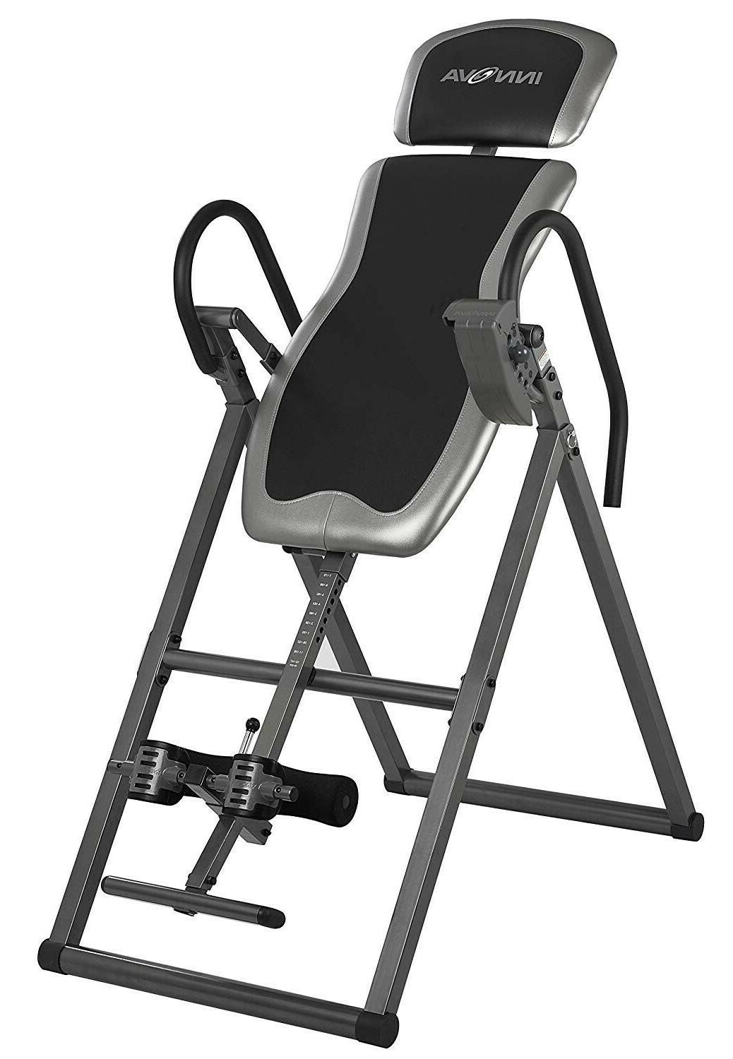 Innova Heavy Duty Inversion Table with Adjustable Headrest & Protective Cover
