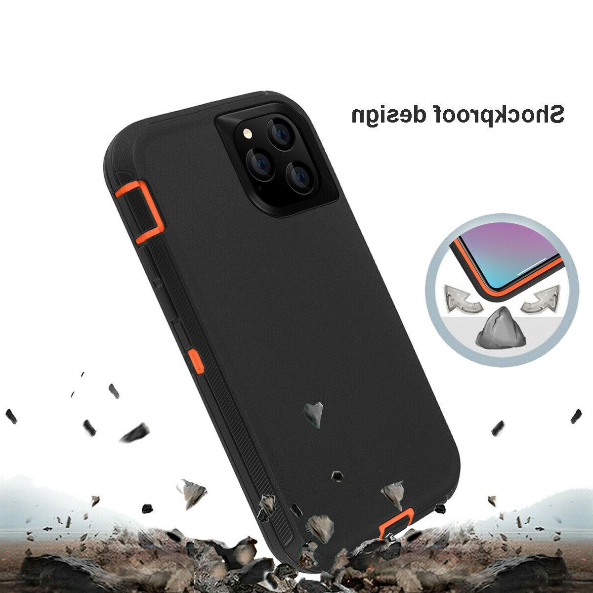 For iPhone 11 Pro Max Heavy Duty Full Cover W/ Belt