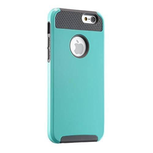 iPhone Non Slip Plastic Rubber Duty Mint Cover for iPhone and iPhone