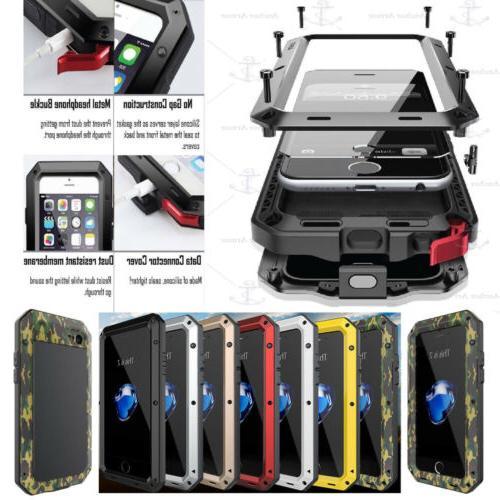 iphone 7 6s plus samsung aluminium shockproof