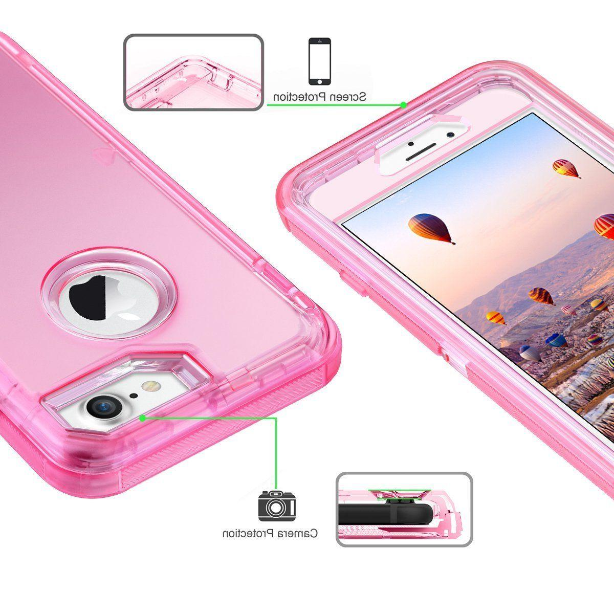 Fit Apple iPhone Transparent Heavy