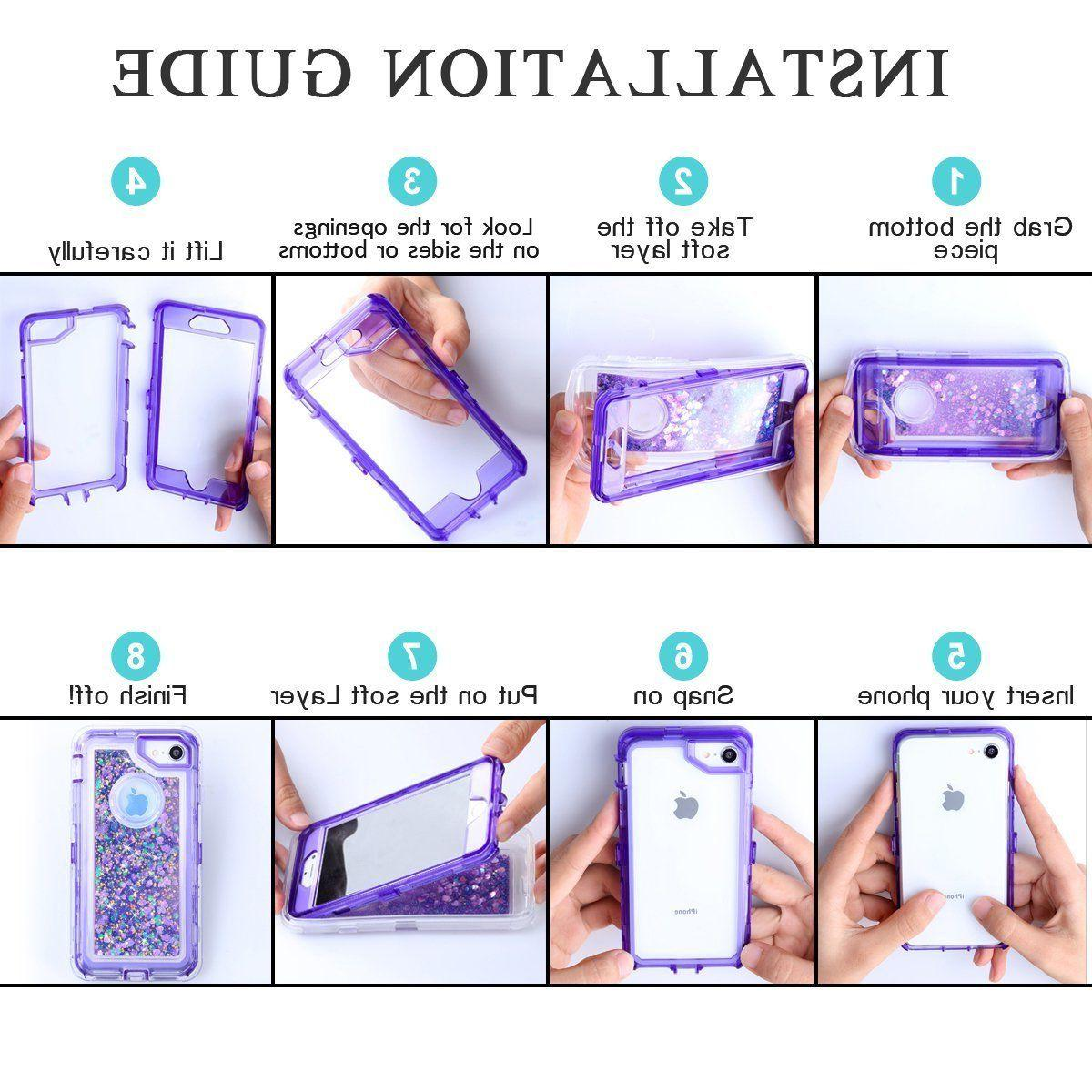 Fit Clear Transparent Protective Heavy