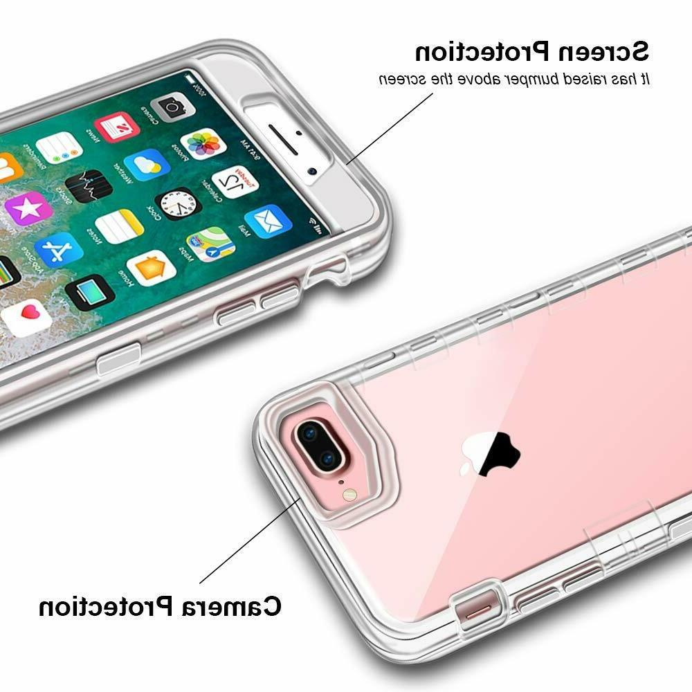 For IPhone 8 / Plus Heavy Duty Protective fit Otterbox Clip