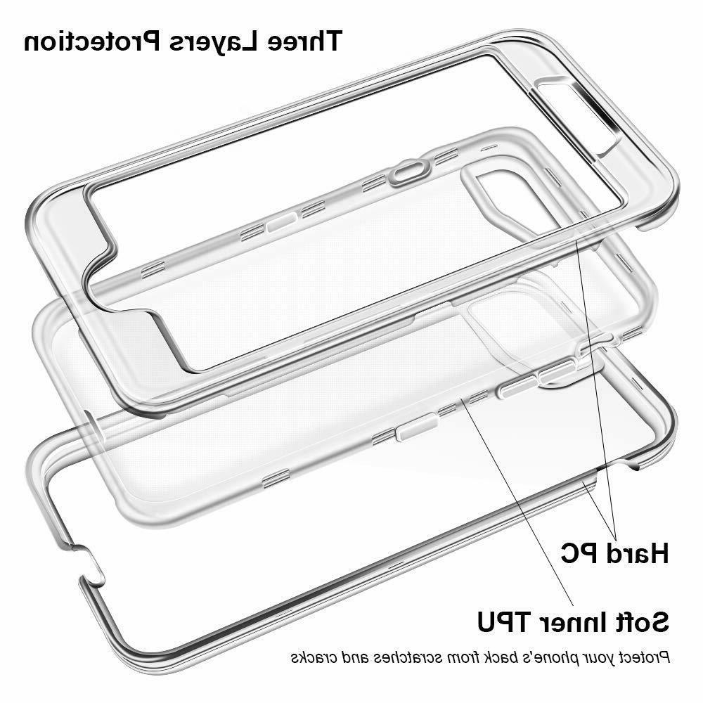 For / 7 Plus Duty Protective Clear fit Otterbox Clip