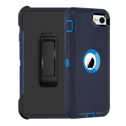 For SE 2020 Case Cover+Screen Protector Fits Defender