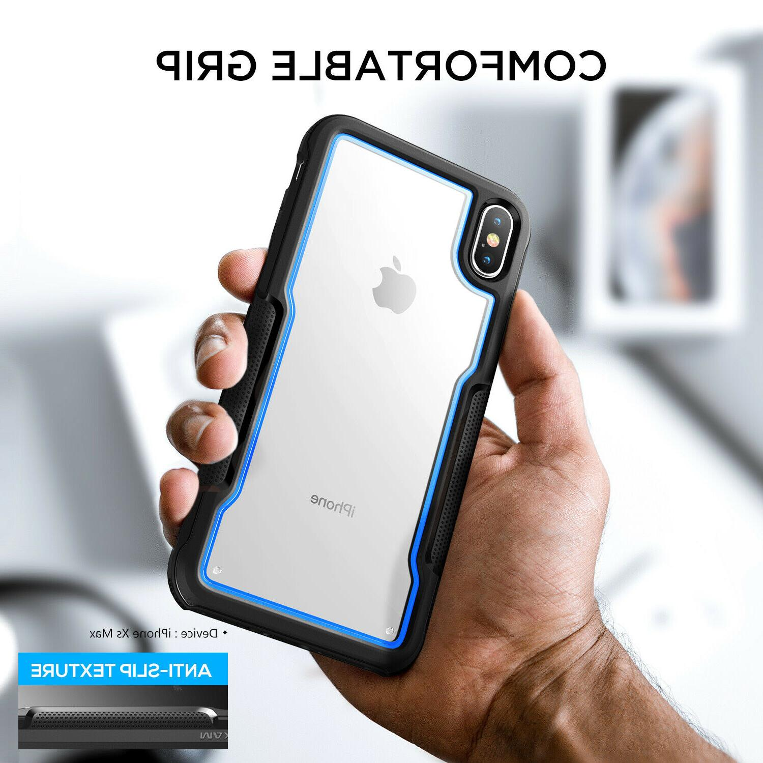 FOR iPhone XS MAX XR Case Heavy Duty Shockproof Clear Protection Cover