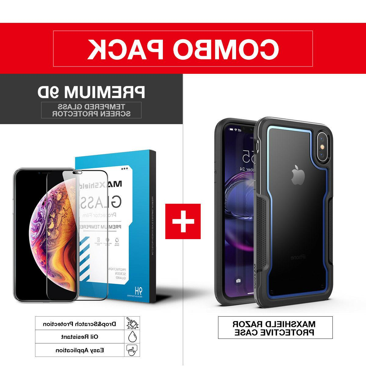 FOR XS MAX XR Duty Shockproof Protection Cover