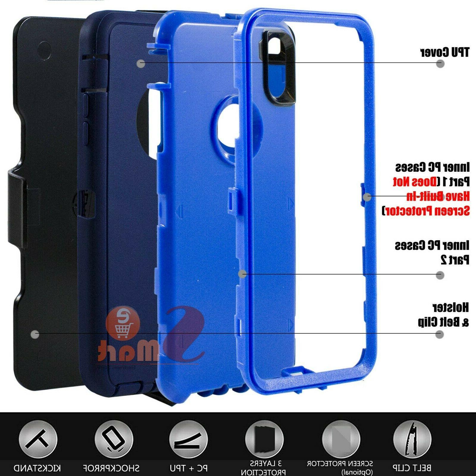 For XS XR Rugged Cover Case With