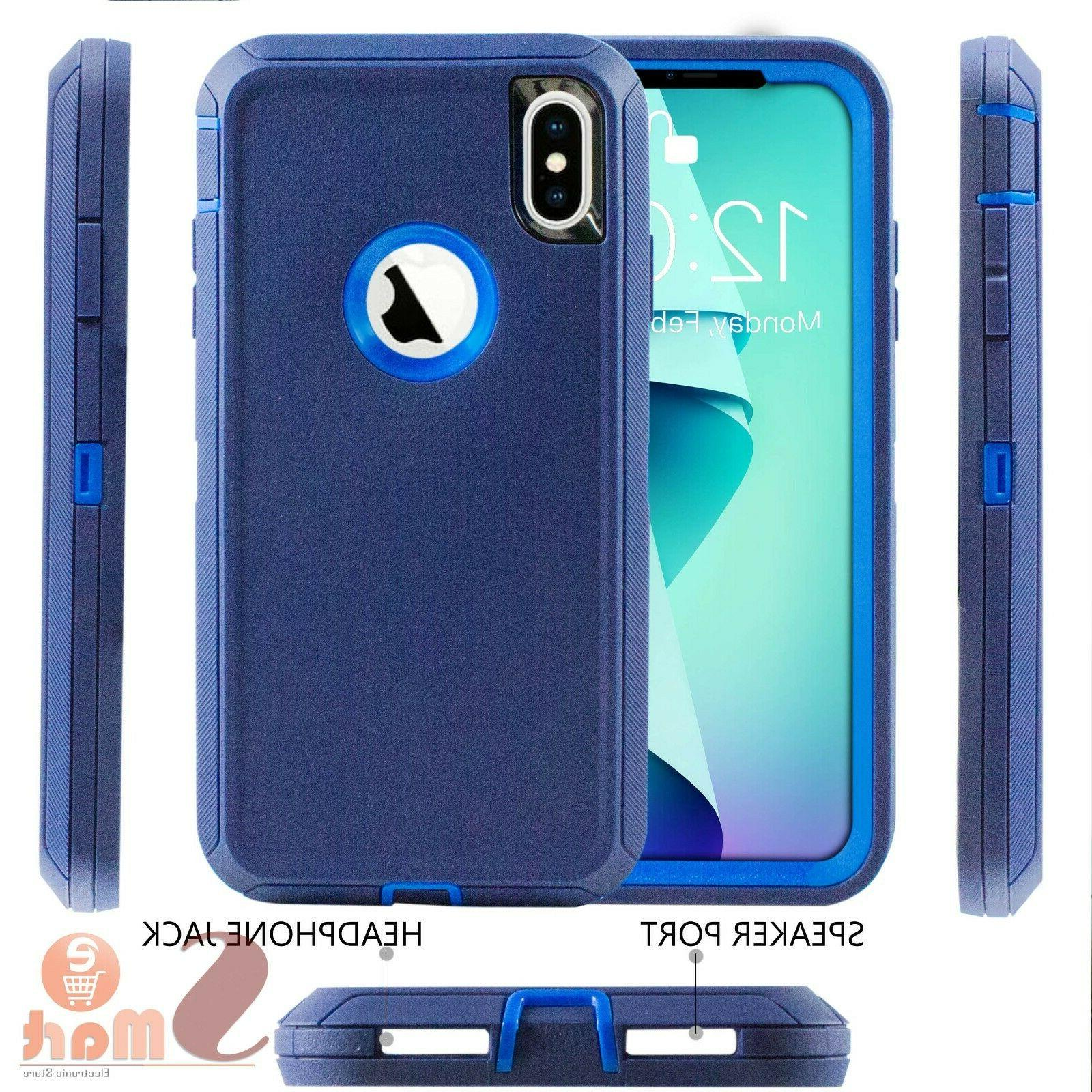 For iPhone XR Heavy Rugged Shockproof With