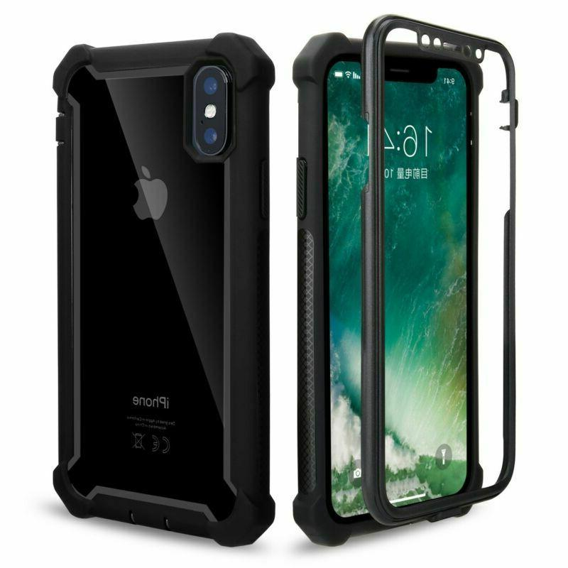 For XR XS MAX 7 Plus Case Cover Shockproof Duty