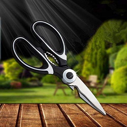 Kitchen Shears, and Heavy Duty Kitchen - for Meat, Herbs Daily Use Around House