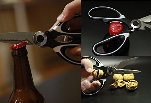 Kitchen Shears, Kitchen and Sharp Heavy Duty Kitchen - Kitchen for Chicken, Poultry, Meat, Herbs Daily Use House