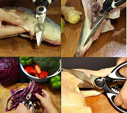 Kitchen Shears, and Heavy Shears - for Fish, Meat, Herbs House