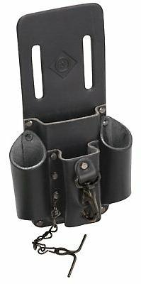 LEATHER POUCH HEAVY Duty 4 Pocket Hand Tool Organizer Belt S