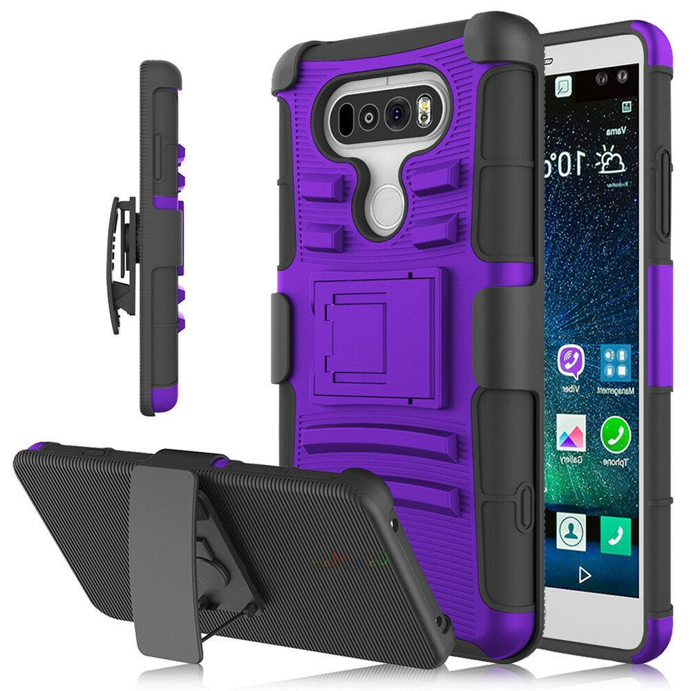 For LG Hybrid Duty Stand Case