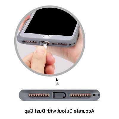 iPhone 8 Plus ULAK Shockproof TPU Fit Cover
