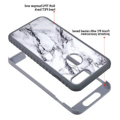 iPhone ULAK Marble Shockproof TPU Fit Cover