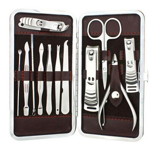 Men Women Heavy Steel Finger Nails Cutter Grooming Kit USA