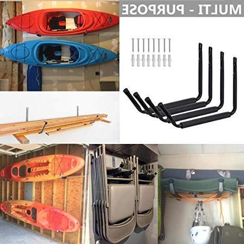 Swendo Hooks Storage Utility Rack, Dock