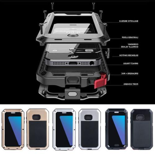 metal shockproof aluminum heavy duty case cover