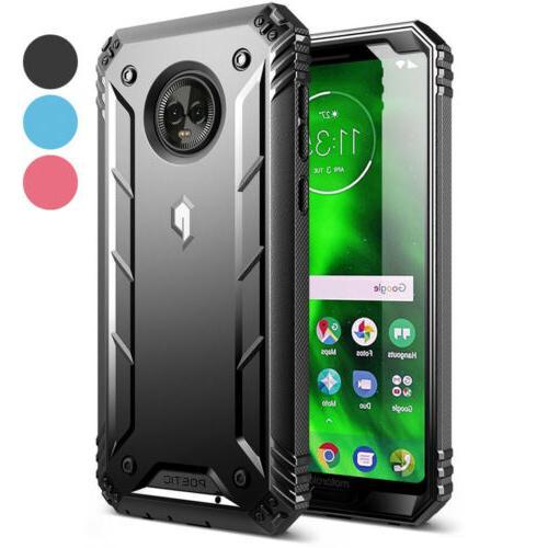 For Motorola Moto G6 Case 3 Color Poetic【Revolution】Rugg