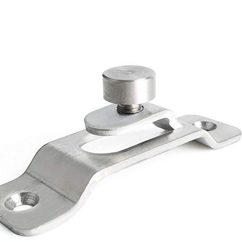 Alise Stainless Steel Heavy Duty Safety Door Lock,Brushed