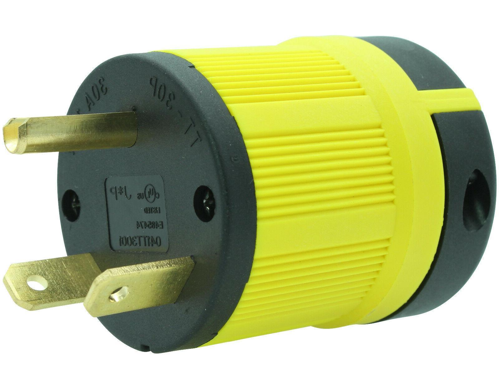 nema tt 30p male plug replacement cord