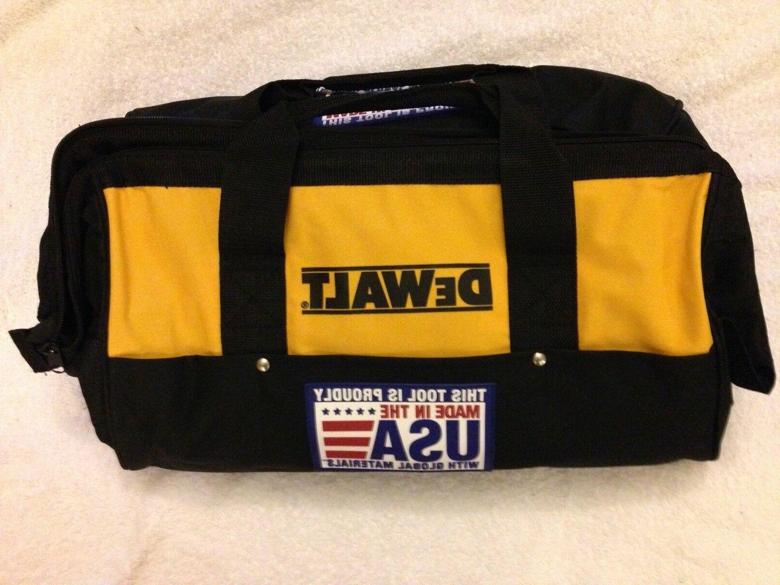 new dck019 19 tool bag heavy duty