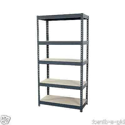 New Edsal Heavy Boltless Rivet Garage Storage Shelving 18""