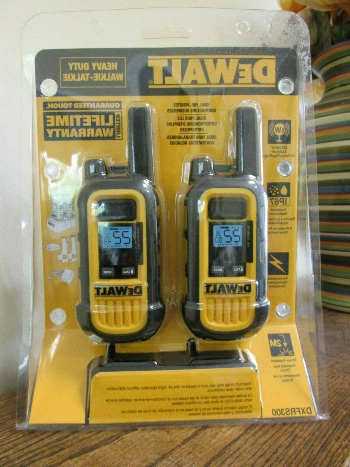 new heavy duty walkie talkie dxfrs300