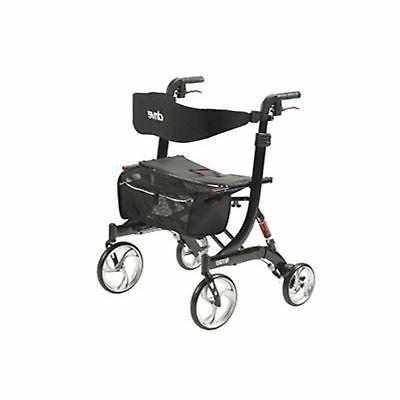nitro euro style walker rollator heavy duty