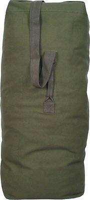 Olive Drab Heavy Duty Military Grade Top Load Duffle Bag