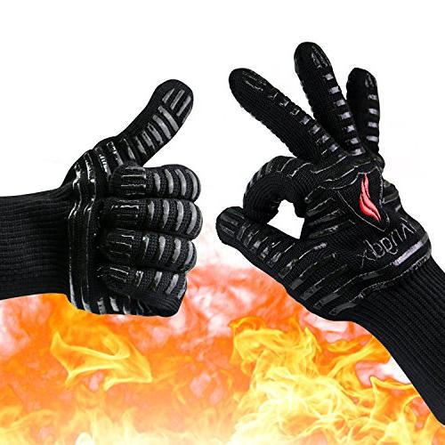oven gloves heat resistant mitts